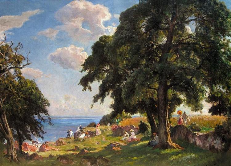 f - VIGGO PEDERSEN DANISH, 1854-1926