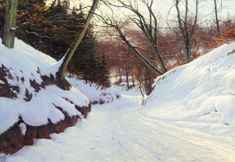 SIGVARD HANSEN DANISH, 1859-1938