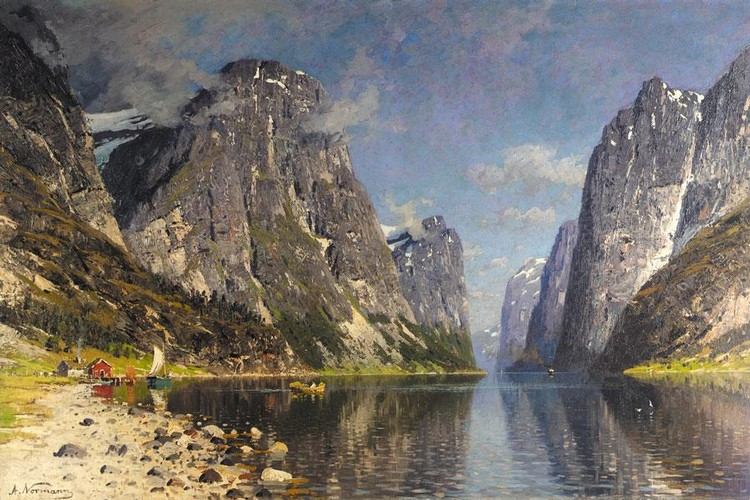 ADELSTEEN NORMANN NORWEGIAN, 1848-1918