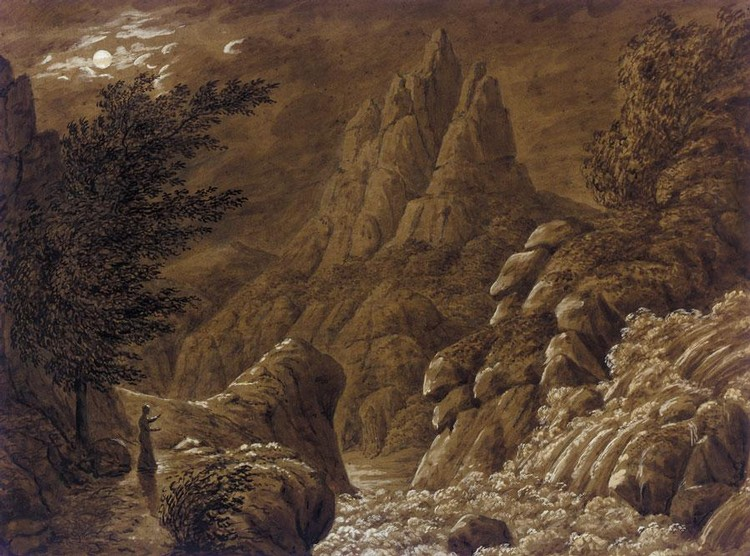 CASPAR DAVID FRIEDRICH GERMAN, 1774-1840
