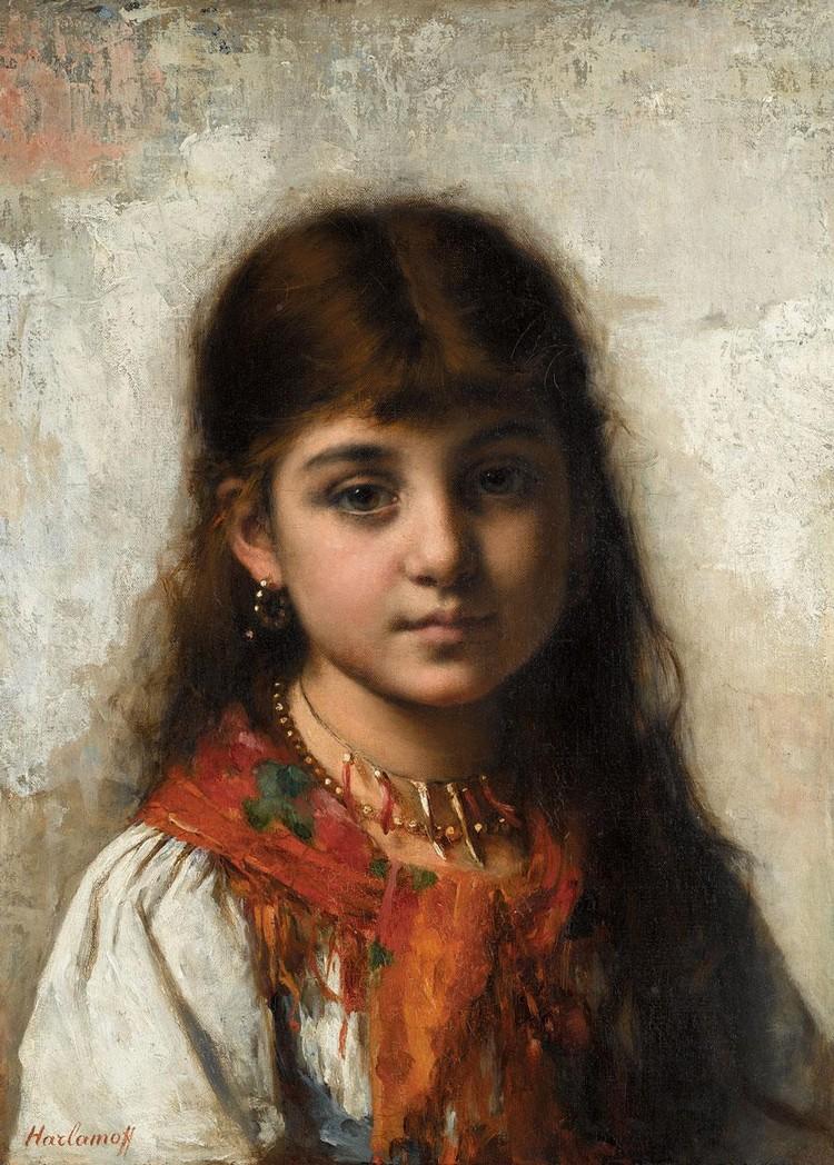 ALEXEI HARLAMOFF RUSSIAN, 1842-1915