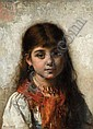 ALEXEI HARLAMOFF RUSSIAN, 1842-1915, Alexej Harlamoff, Click for value