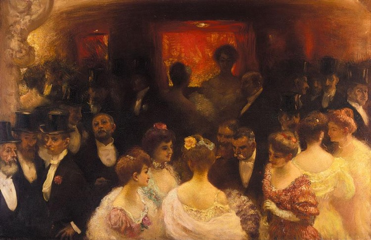 GASTON LA TOUCHE FRENCH, 1854-1913