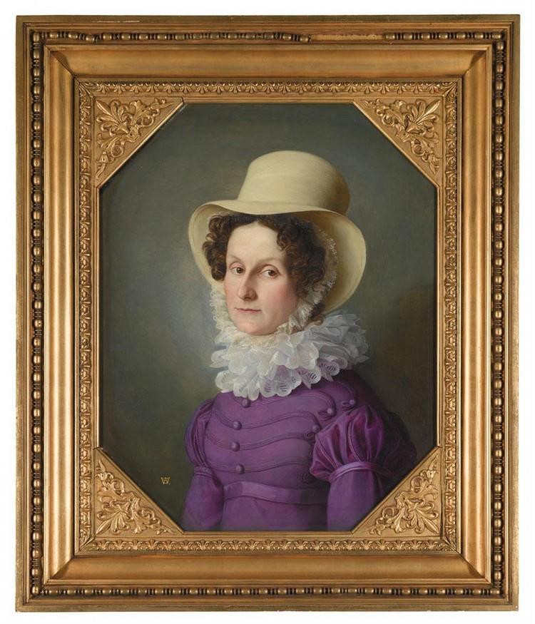 FRIEDRICH WILHELM VON SCHADOW GERMAN, 1788-1862