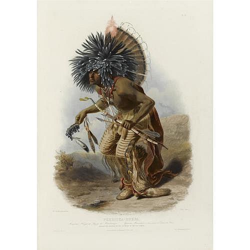 Maximilian zu Wied-Neuwied,  Prince . , Reise in das innere Nord-America in den Jahren 1832 bis 1834. Koblenz: J. Hoelscher, 1839-1841