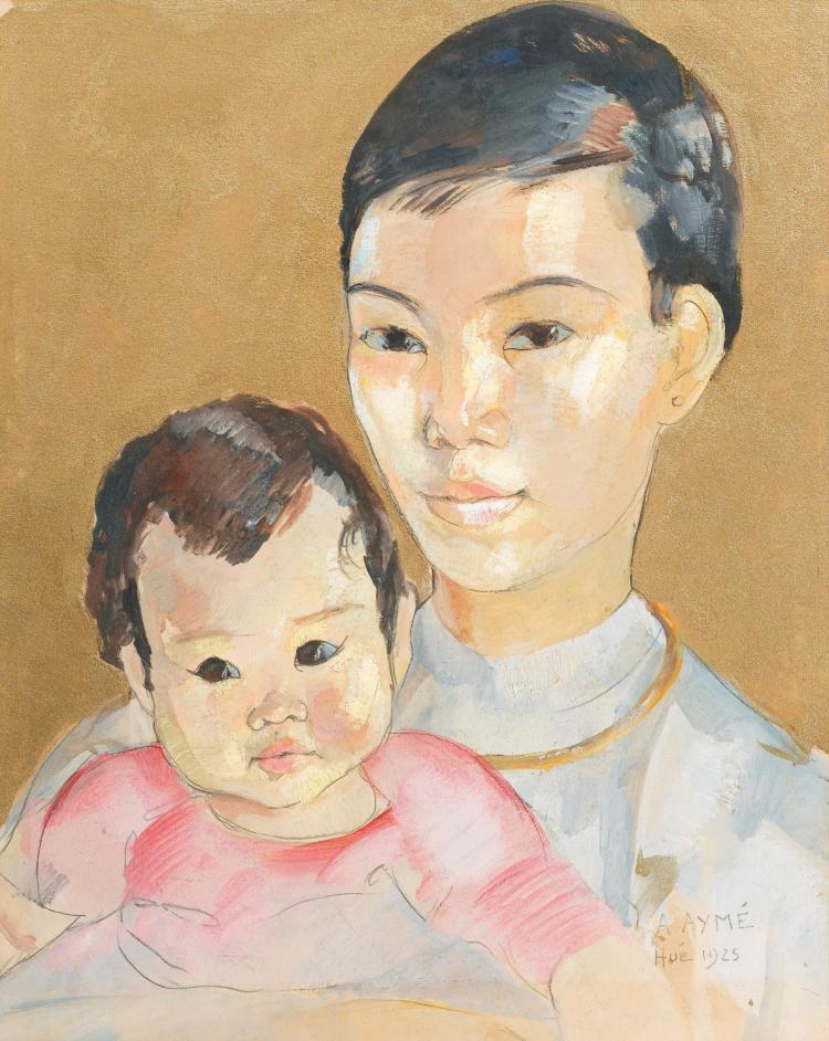 ALIX AYMÉ | Mother and Child from Hue
