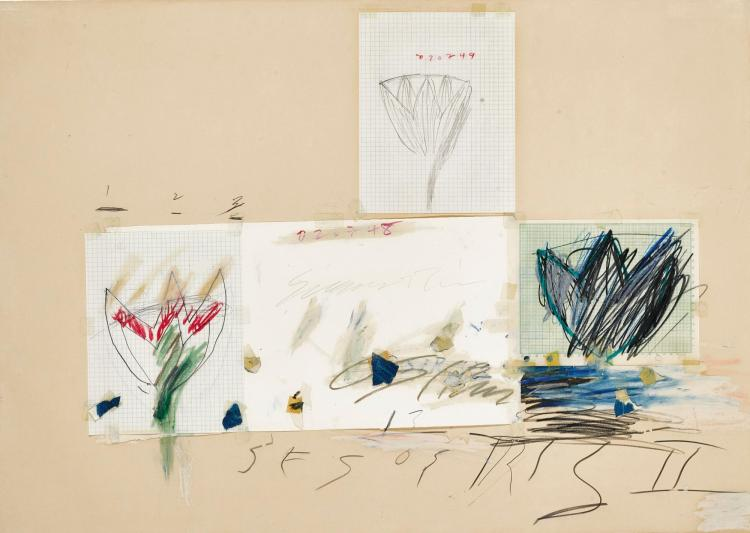 CY TWOMBLY | Untitled