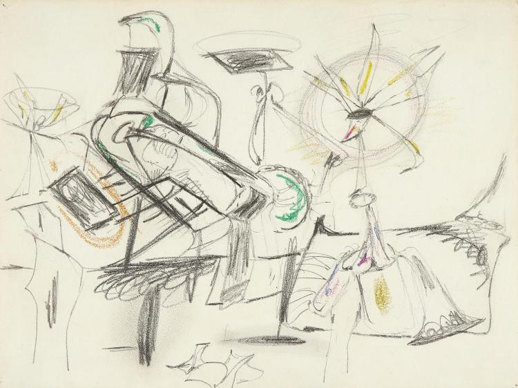 ARSHILE GORKY | Untitled