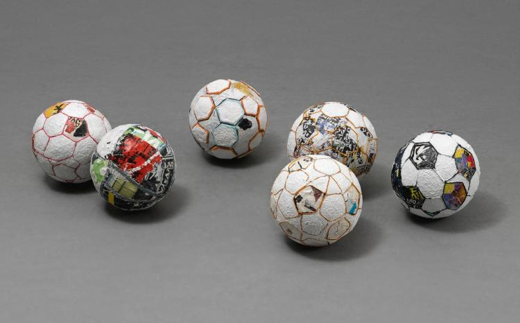 MARK BRADFORD | Soccer Balls