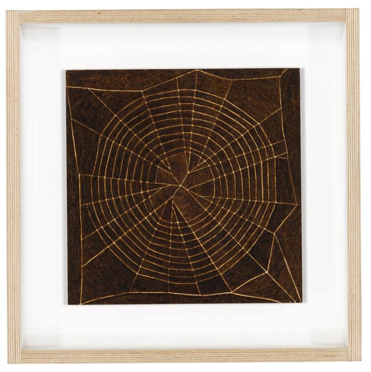 TOM SACHS | Untitled (Spider's Web Study #2)