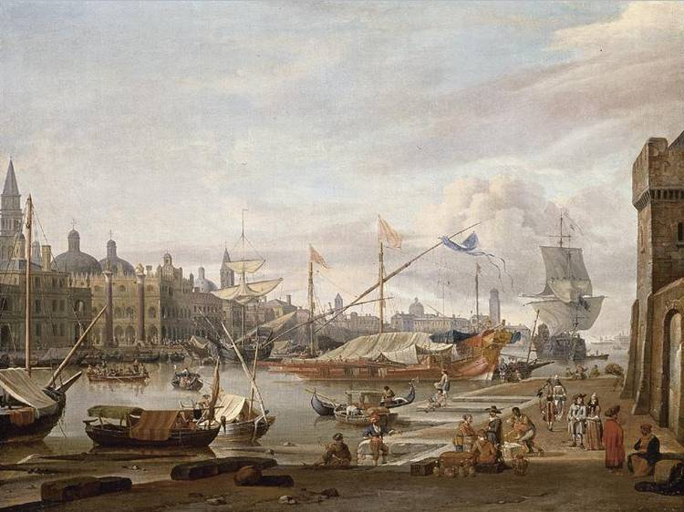 * ABRAHAM JANSZ. STORCK AMSTERDAM 1644 - 1708