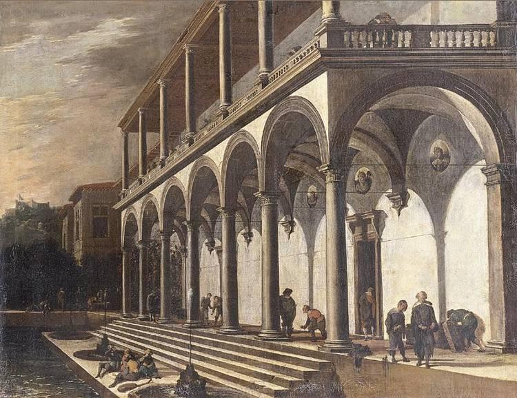 * VIVIANO CODAZZI (BERGAMO 1604 - 1670 ROME) AND DOMENICO GARGIULO (NAPLES 1609/10 - 1675)