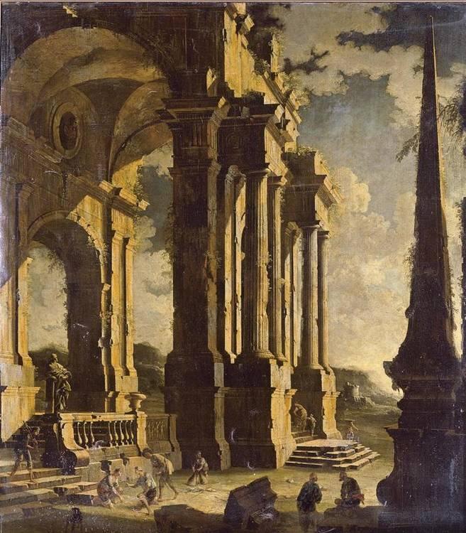 * LEONARDO COCCORANTE NAPLES 1680-1750
