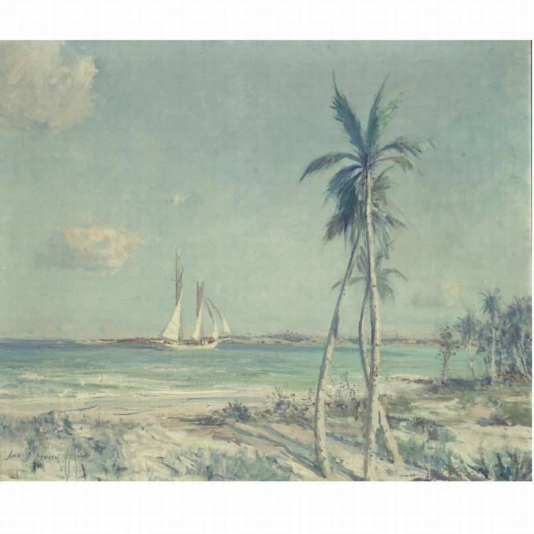 PROPERTY FROM THE COLLECTION OF MRS. VIRGINIA KRAFT PAYSON JOHN P. BENSON 1865-1947 IN BERMUDA