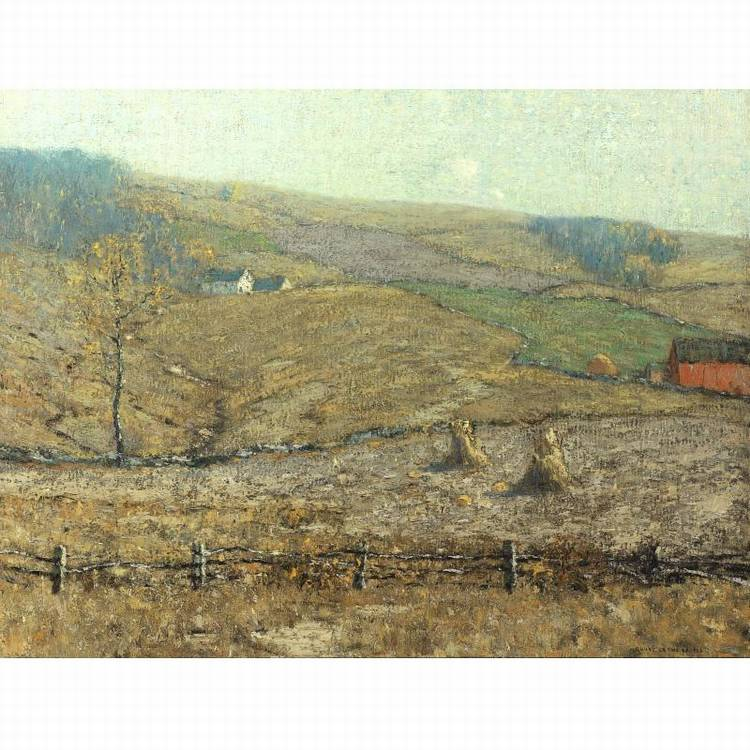 PROPERTY FROM THE CIGNA MUSEUM AND ART COLLECTION BRUCE CRANE 1857-1937 A NEW ENGLAND FARM