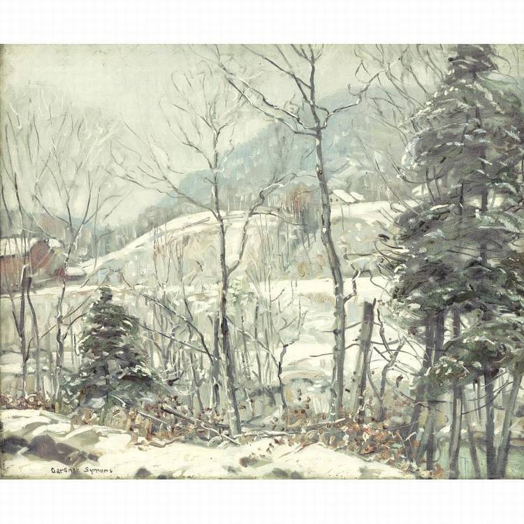 PROPERTY FROM THE CIGNA MUSEUM AND ART COLLECTION GEORGE GARDNER SYMONS 1863-1930 NEW ENGLAND