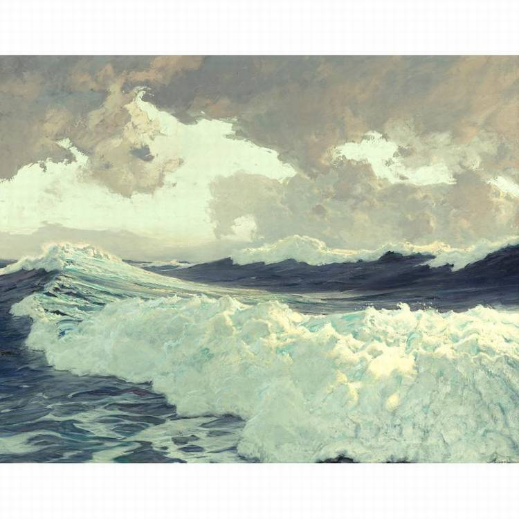 PROPERTY FROM THE CIGNA MUSEUM AND ART COLLECTION FREDERICK JUDD WAUGH 1861-1940 THE OCEAN
