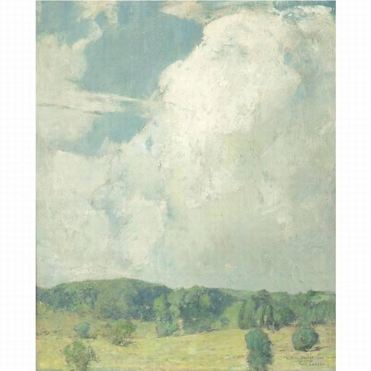 EMIL CARLSEN 1853-1932 SUMMER LANDSCAPE