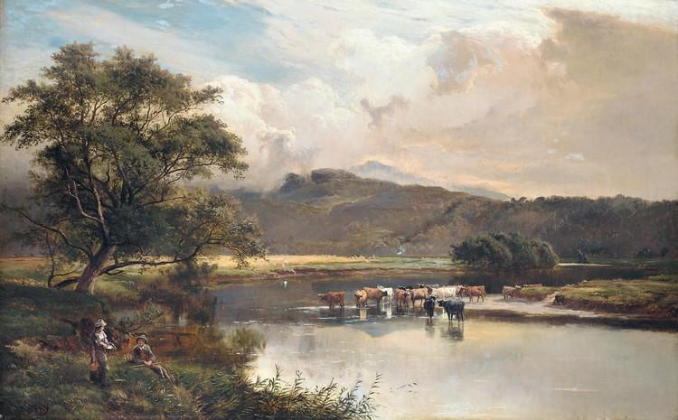 f - SIDNEY RICHARD PERCY 1821-1886
