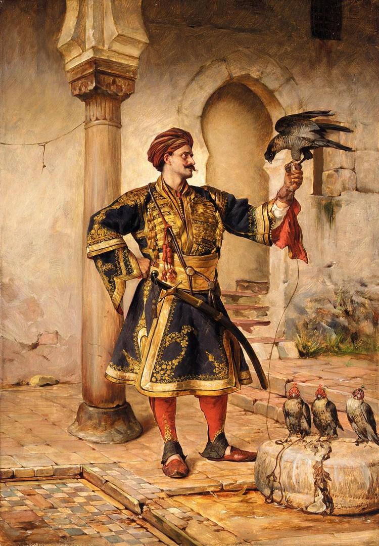 PAUL JOANOVITS (JOANOWITCH) SERBIAN, 1859-1957