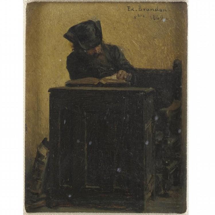 JACQUES-EMILE-ÉDOUARD BRANDON 1831-1897