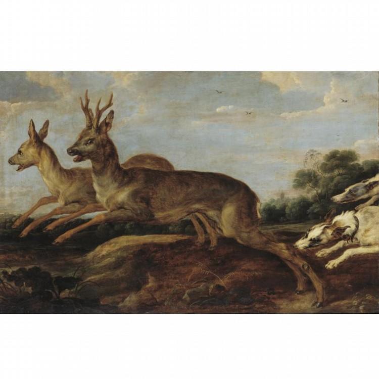 l,u - PAUL DE VOS HULST 1591/2 OR 1595 - 1678 ANTWERP