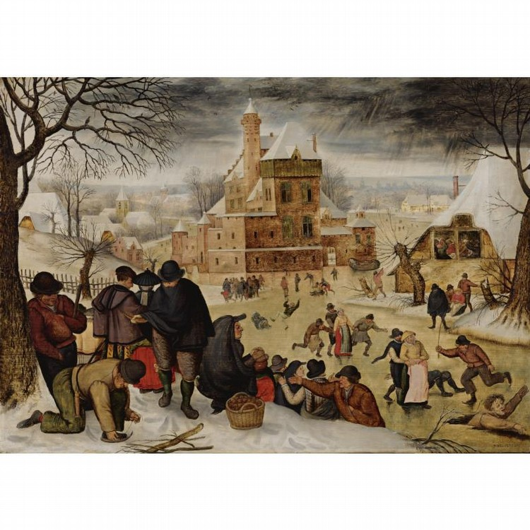 PIETER BRUEGHEL THE YOUNGER BRUSSELS 1564 - 1637/8 ANTWERP