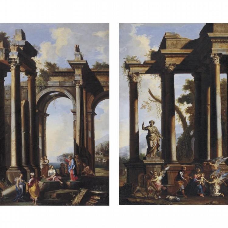 u - ALBERTO CARLIERI ROME 1672 - 1720