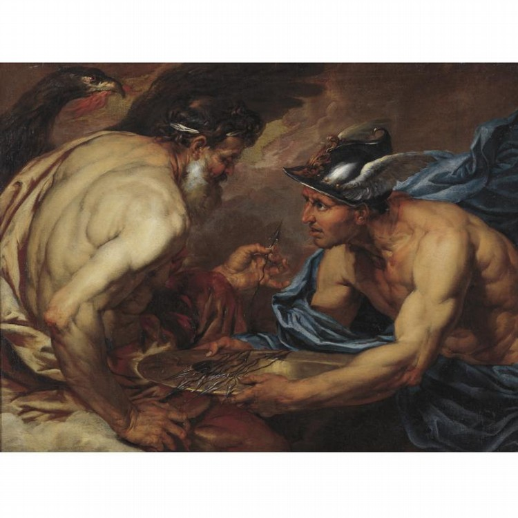 GIOVANNI BATTISTA LANGETTI GENOA 1635 - 1676 VENICE