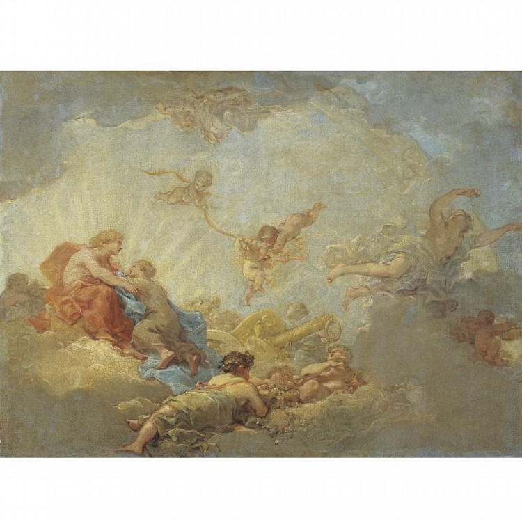 ATTRIBUTED TO JEAN-SIMON BERTHÉLEMY LAON 1743 - 1811 PARIS