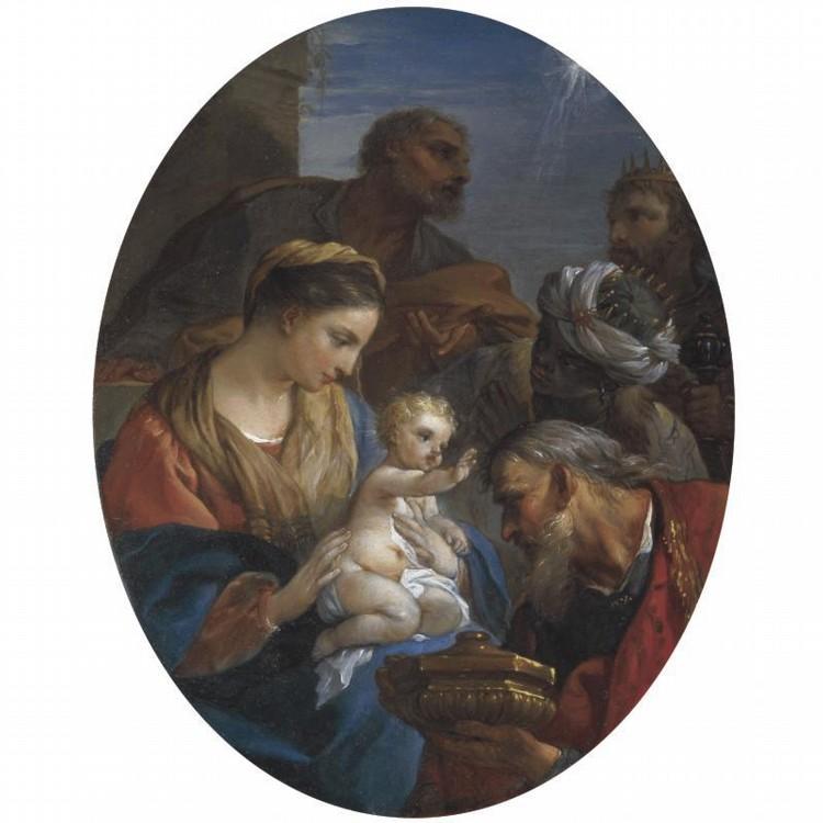 CHARLES-JOSEPH NATOIRE NÎMES 1700 - 1777 CASTEL GANDOLFO