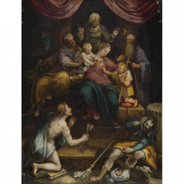DENYS CALVAERT ANTWERP CIRCA 1540 - 1619 BOLOGNA