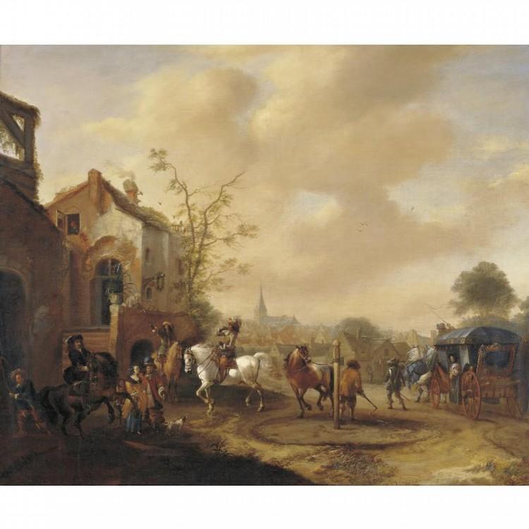 PIETER WOUWERMAN HAARLEM 1623 - 1682 AMSTERDAM