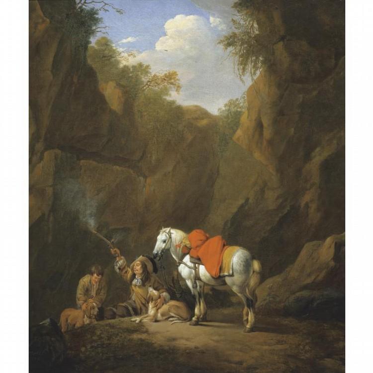 JOHANN HEINRICH ROOS REIPOLTSKIRCHEN 1631 - 1685 FRANKFURT AM MAIN