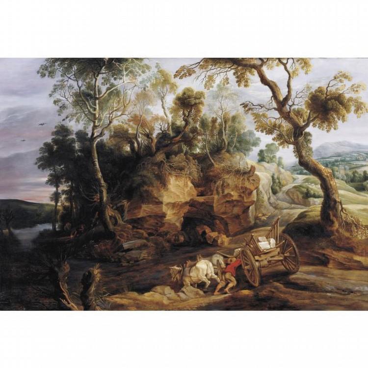 LUCAS VAN UDEN ANTWERP 1595 - 1672