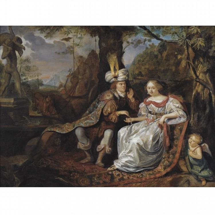 MATTHIJS NAIVEU LEIDEN BAPT 1647 - 1726 AMSTERDAM