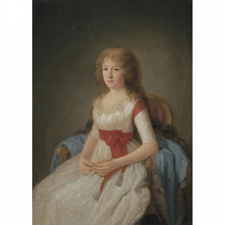 AGUSTIN ESTEVE Y MARQUES VALENCIA 1753 - CIRCA 1820 MADRID