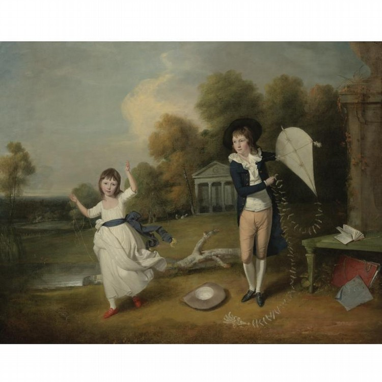 JOHN DOWNMAN A.R.A. RUABON, N. WALES 1750 - 1824 WREXHAM