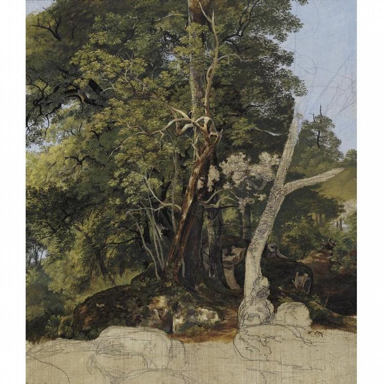 FRIEDRICH SALATHÉ BINNINGEN 1793 - 1860 PARIS