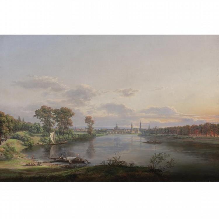JOHAN CHRISTIAN CLAUSEN DAHL BERGEN 1788-1857 DRESDEN