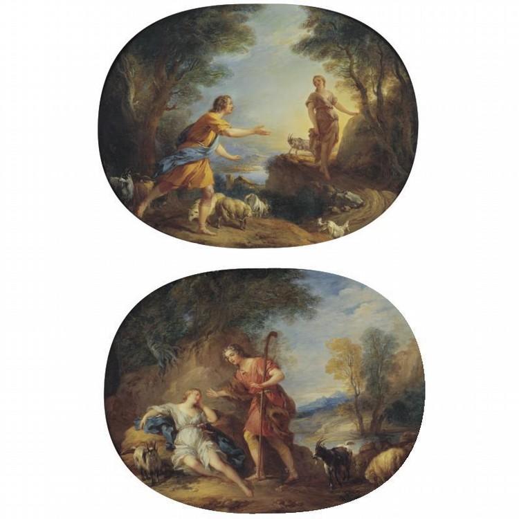 FRANÇOIS LE MOYNE PARIS 1688 - 1737