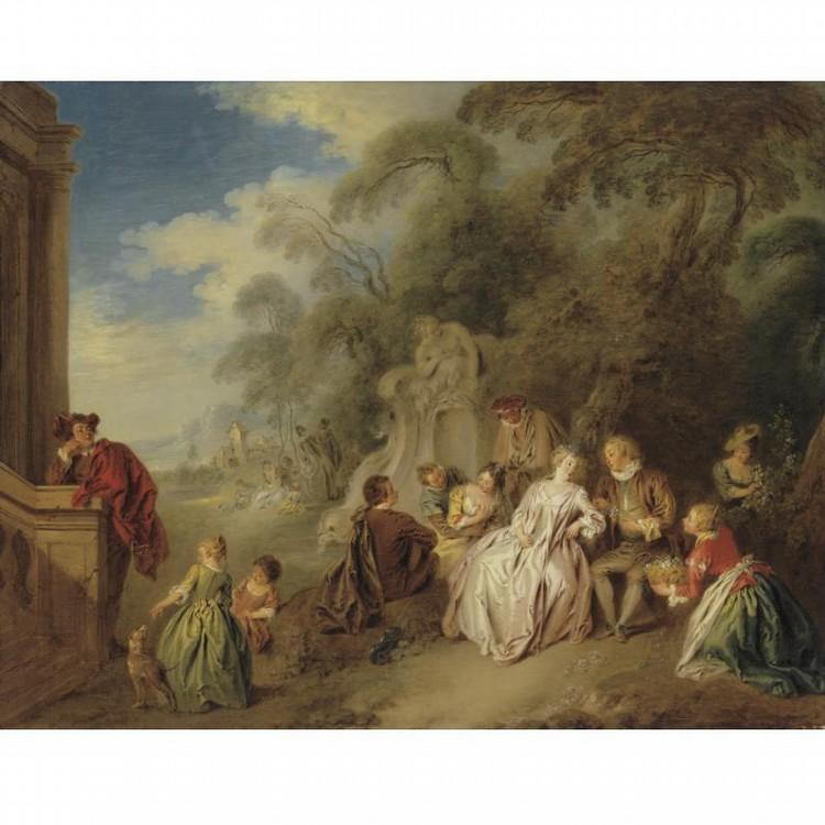 JEAN-BAPTISTE PATER VALENCIENNES 1695 - 1736 PARIS
