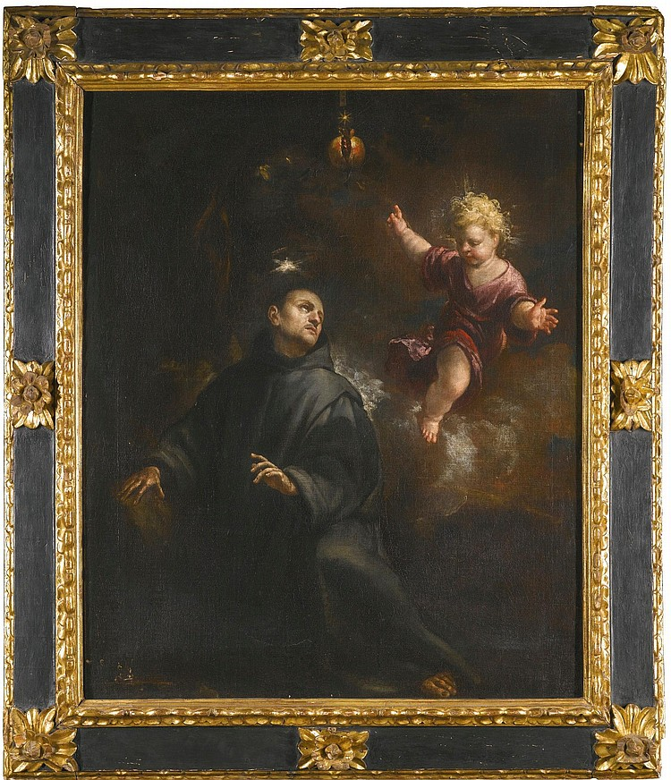 CLAUDIO COELLO   Saint John of God (1495- 1550) with an angel