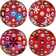 TAKASHI MURAKAMI   A Collection of Ten Flowerball Prints