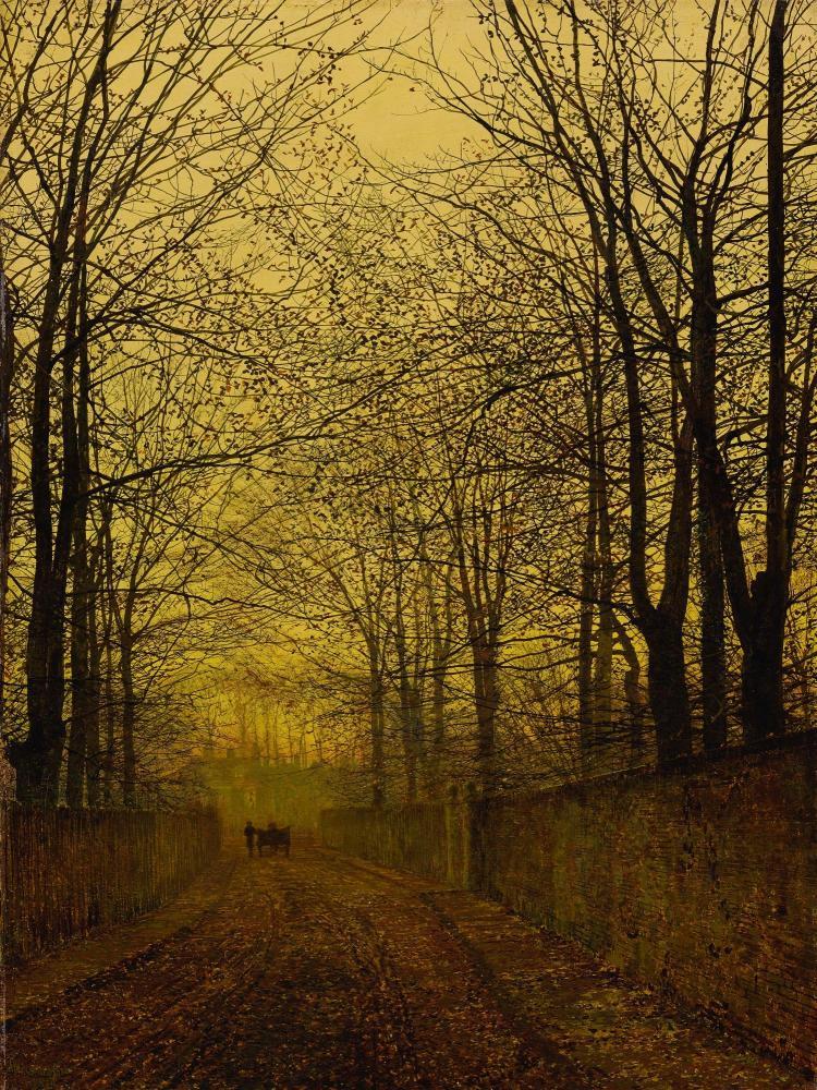 JOHN ATKINSON GRIMSHAW | October Gold