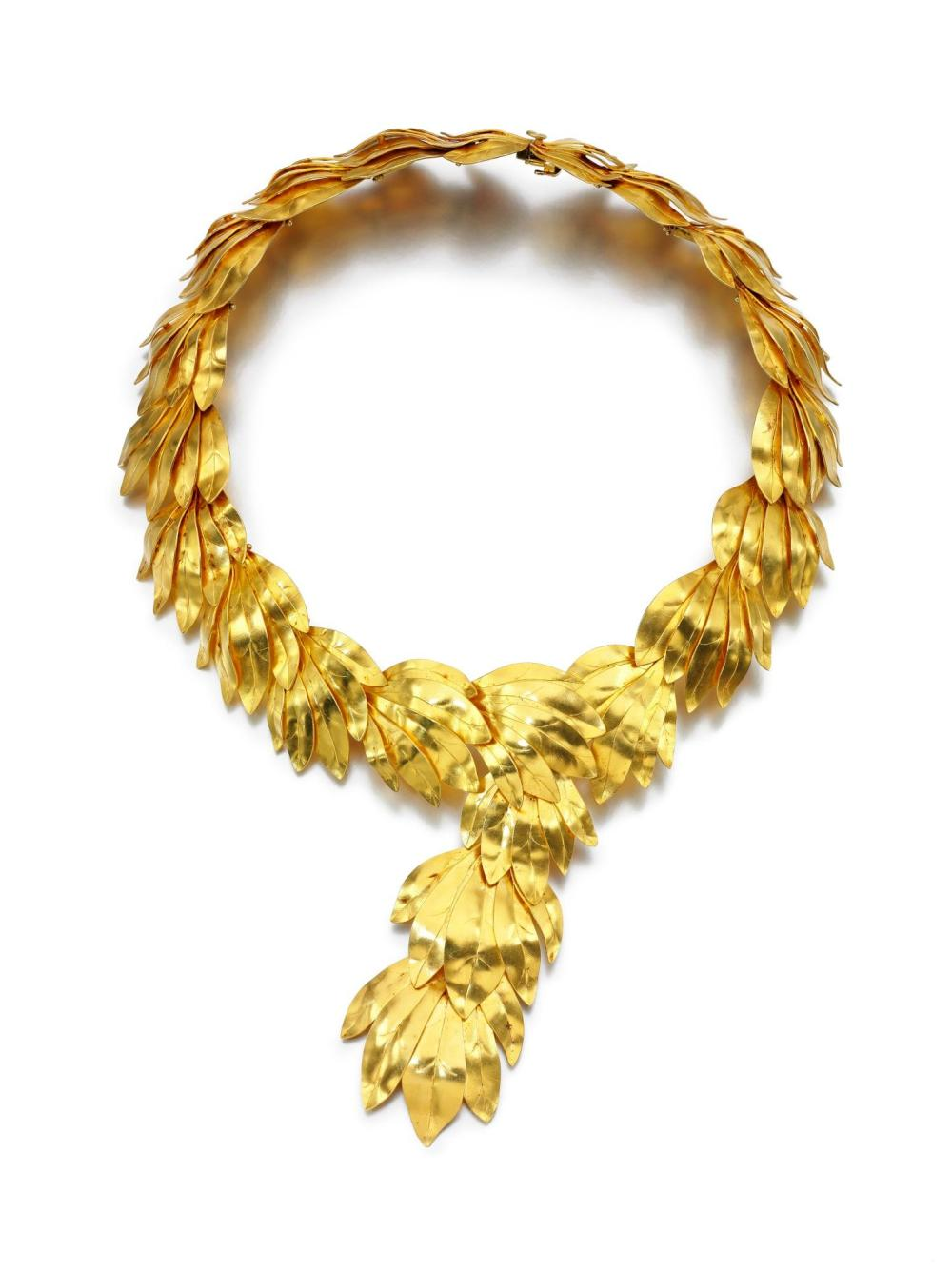 NECKLACE, ZOLOTAS