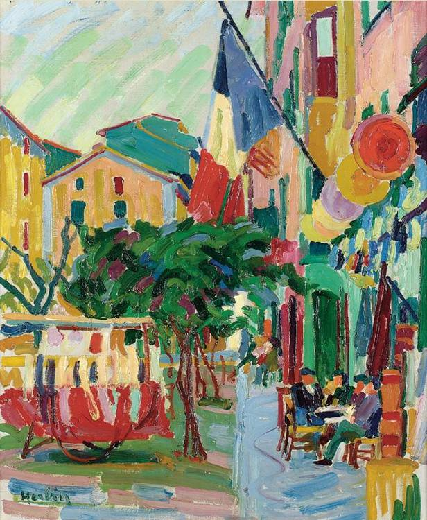 Auguste herbin artwork for sale at online auction for Auguste herbin