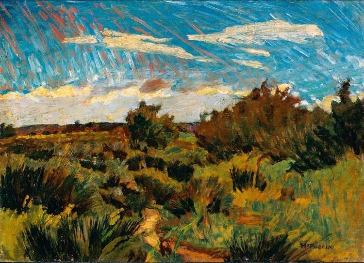 MARIO PUCCINI (LIVORNO 1869 - FIRENZE 1920)