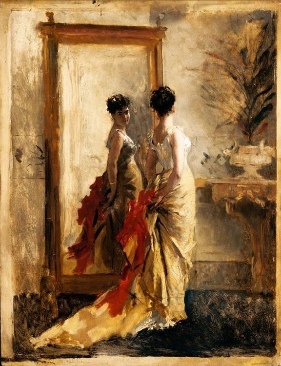 MOSÈ BIANCHI (MONZA 1840 - 1904)