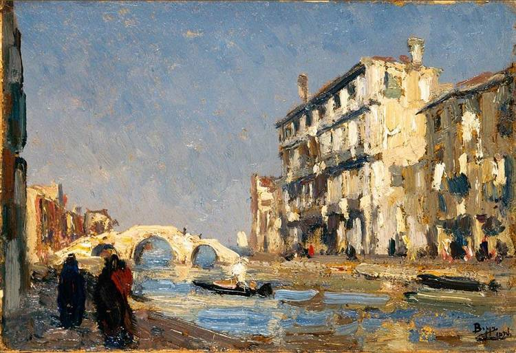 BEPPE CIARDI (VENEZIA 1875 - QUINTO DI TREVISO 1932)